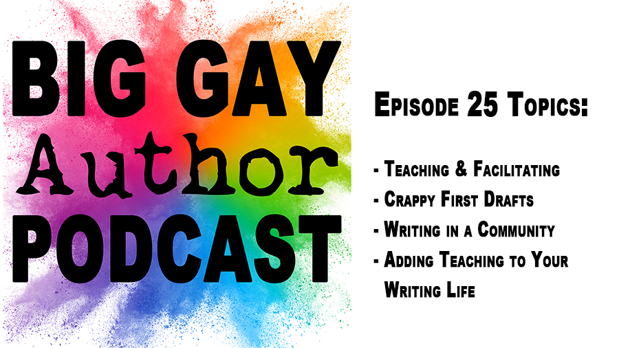 In Conversation with Author and Writing Instructor Rachael Herron – Big Gay Author Podcast episode 25