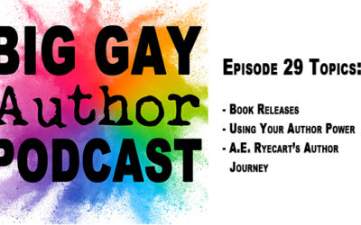 Who's Got the Power? – Big Gay Author Podcast episode 29