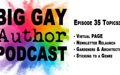 The Author Life – Big Gay Author Podcast episode 35