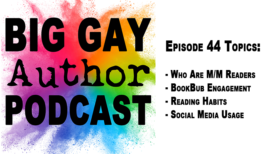 Nora Phoenix Has the Stats on Gay Romance Readers – Big Gay Author Podcast episode 44