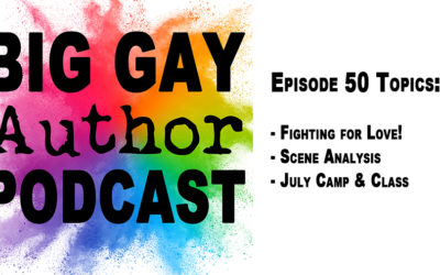 Romancing the Beat (Story Structure Part 4) – Big Gay Author Podcast episode 50