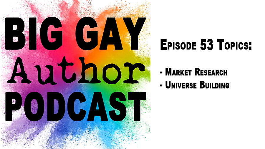 Romance Tropes With Author Ed Davies – Big Gay Author Podcast episode 53