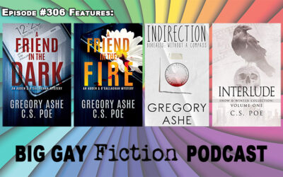 Authors Gregory Ashe and C.S. Poe on Their Unique Collaboration Style – BGFP episode 306