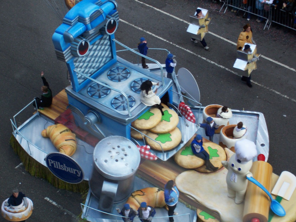 Pillsbury Float - Macy's Thanksgiving Day Parade 2007