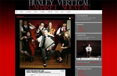 Huxley Vertical Website