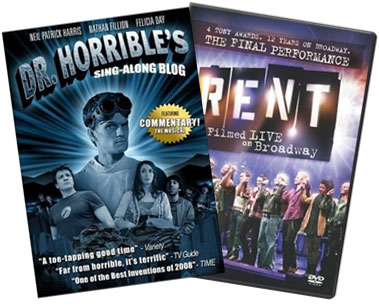 Dr. Horrible's Sing-A-Long Blog and Rent on DVD