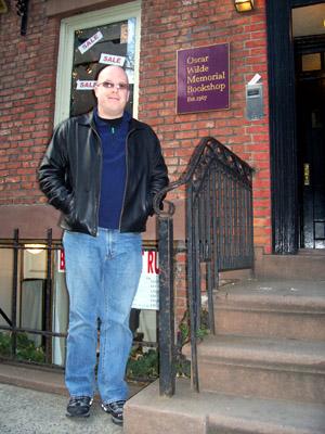 Jeff at Oscar Wilde