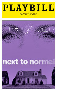 Next to Normal Playbill