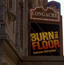 Burn the Floor marquee