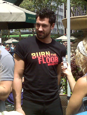 "Maks from ""Burn the Floor"""