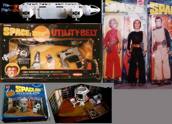 Space 1999 Toys