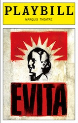 Evita Playbill