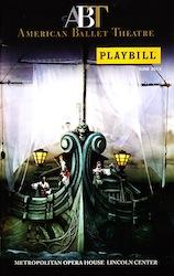 American Ballet Theatre - une 2013 Playbill