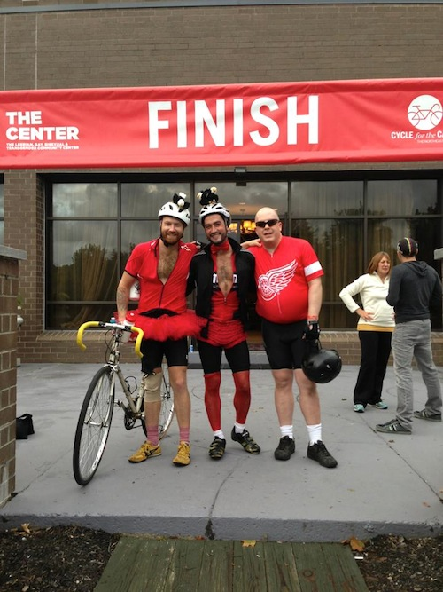 Cycle for the Cause - End of Day 2