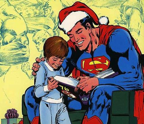 SupermanChristmasWallpaper