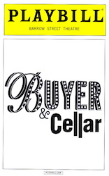 Buyer & Cellar Playbill