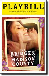 Bridges of Madison County Playbill