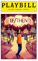If/Then Playbill