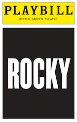 Rocky Playbill