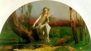 """""""Ophelia"""" by Arthur Hughes"""