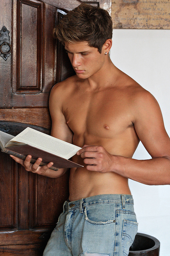 boy reading book teacher coming and sex his