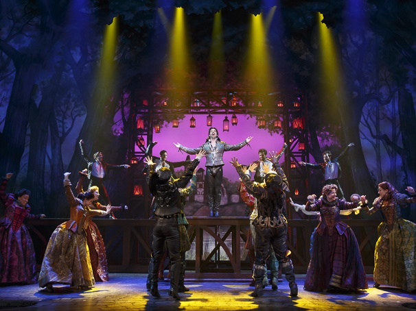 Rock star Shakespeare in Something Rotten